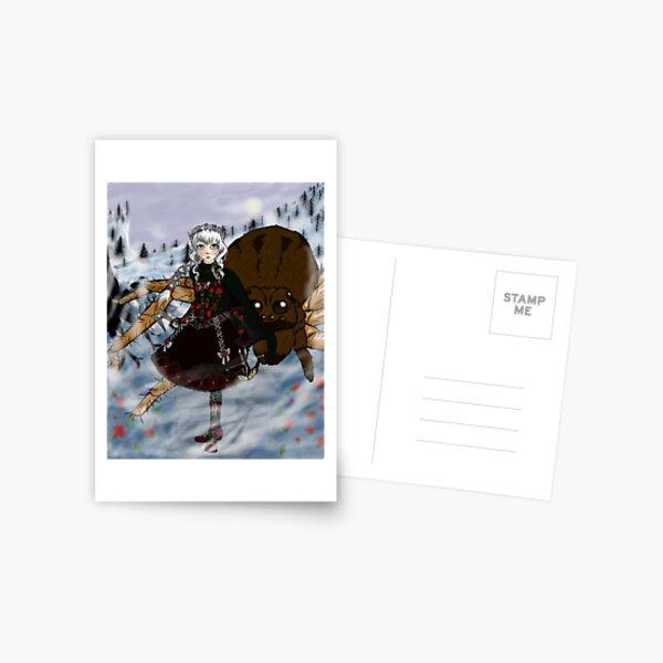 Arane and Anansi Postcard