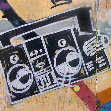 Boombox (graffiti) by alexiares