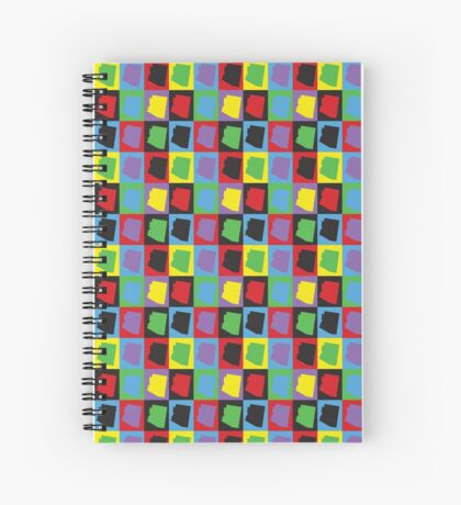 Pop Art Arizona Spiral Notebook