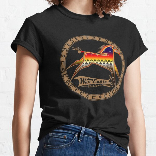Protecting the people Brown Horse Classic T-Shirt