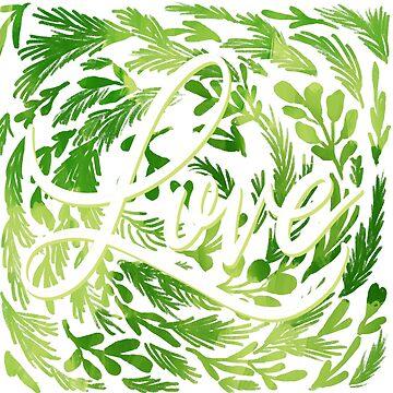 Liebe aller Dinge grün von ilzesgimene