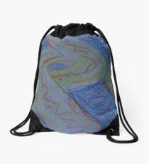 UFO HWY(SKETCH - PASTELS)(C2015) Drawstring Bag