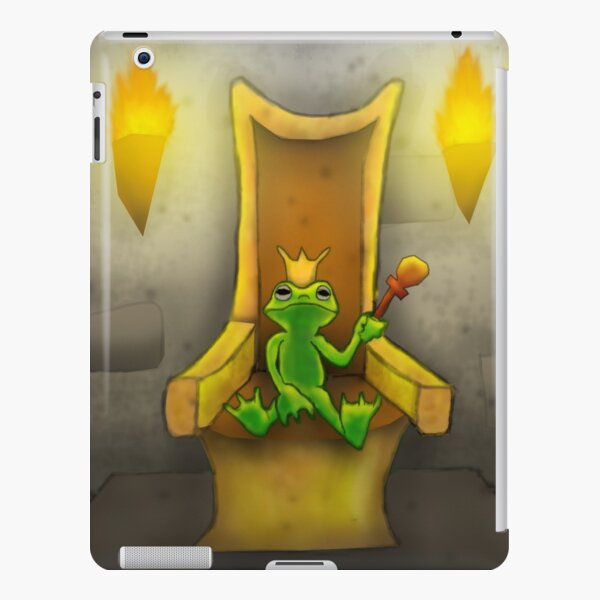 Frog King on Throne iPad Snap Case