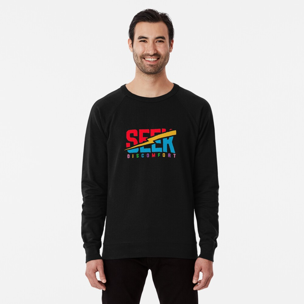 Sweatshirt léger «Chercher le malaise»