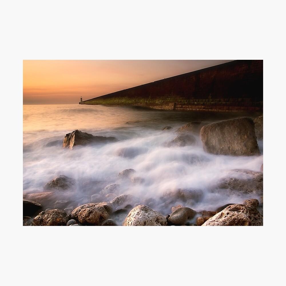 Tynemouth Pier Photographic Print