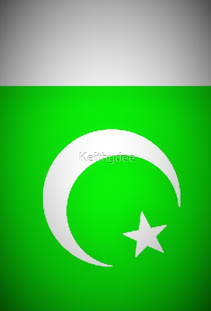 Pakistani national flag by Keithydee