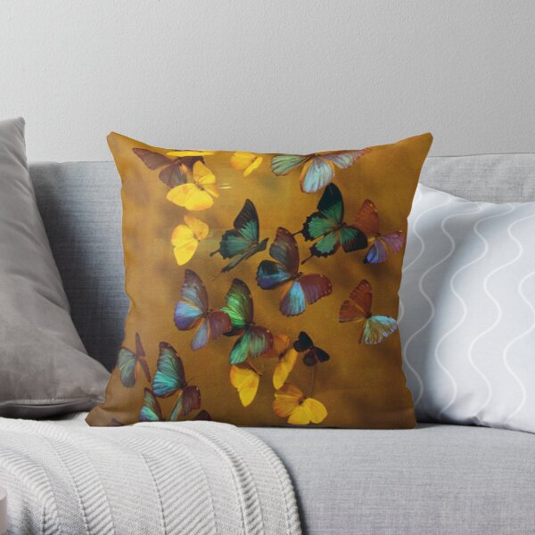 Butterflies Released Throw Pillow