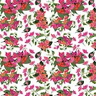 April blooms(Bougainvillea)  by Kanika Mathur  Design