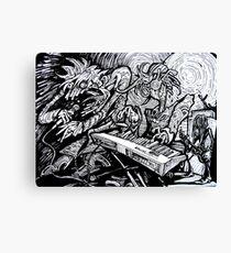 Burners Canvas Print