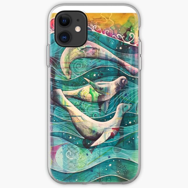 Three Selkies iPhone Soft Case