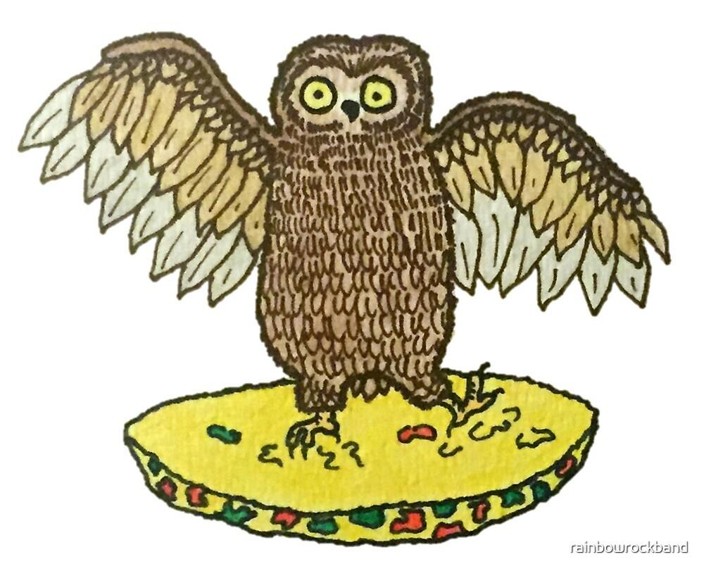 Owl in my Omlette by rainbowrockband