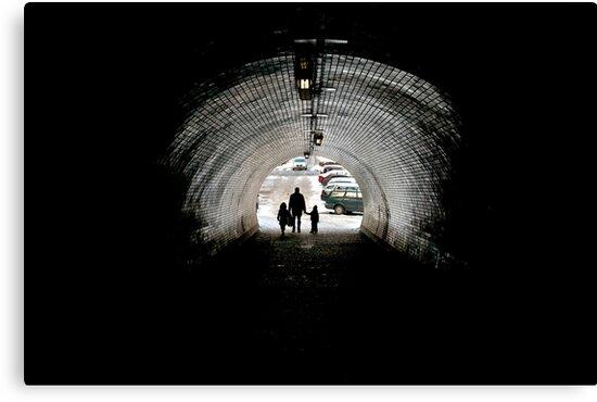 Vítkov Hill tunnel. by EZeemering