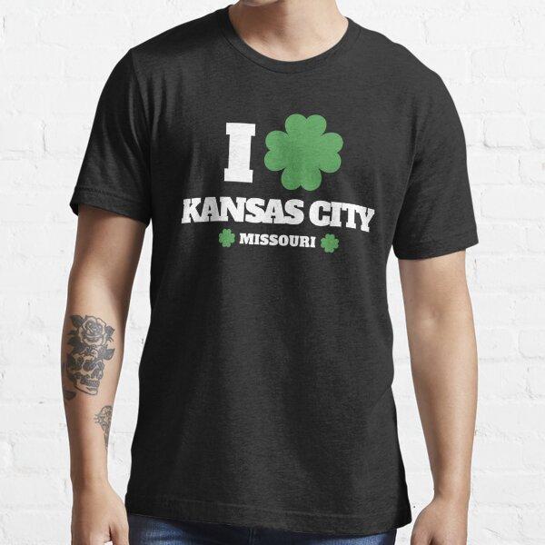 I Love Irish Kansas City, Missouri for St. Patricks Day Essential T-Shirt