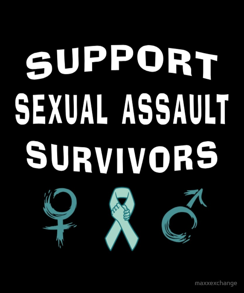 Support Sexual Assault Survivors Month by maxxexchange