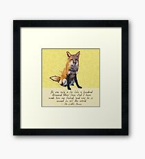 Unique in All the World Framed Print