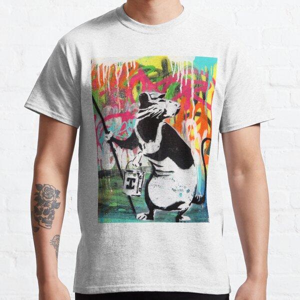 Banksy The Rat | Graffiti Street Art | best street artist in the world Classic T-Shirt