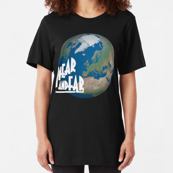 NDVH Near and Far Slim Fit T-Shirt