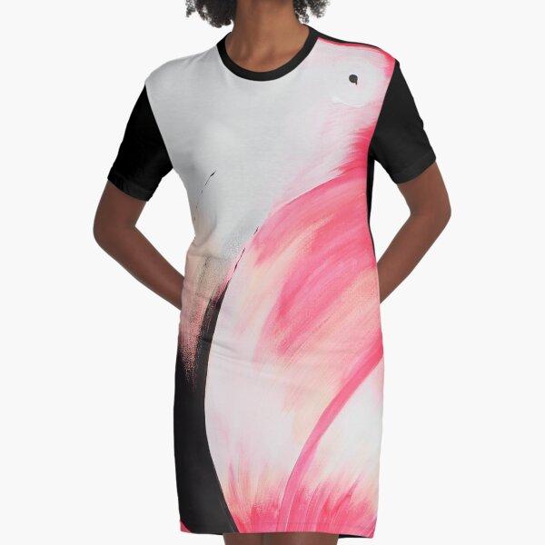 FLAMINGO Graphic T-Shirt Dress