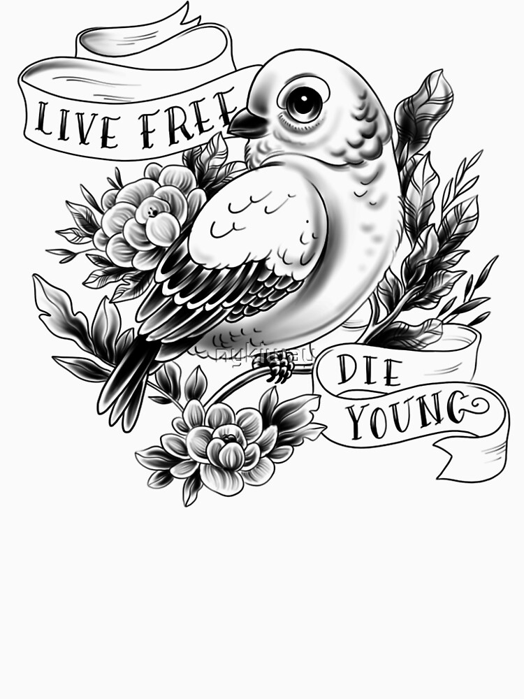 Live Free, Die Young. by nykiway