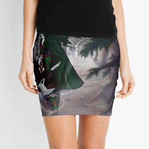 Puella Maledictum Issue 1 Cover Art Mini Skirt