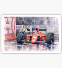 Ferrari F1 Jean Alesi Phoenix US GP Arizona 1991 Sticker