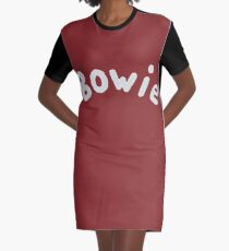 Bowie Graphic T-Shirt Dress