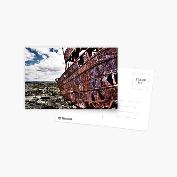 The fallen Plassey Postcard