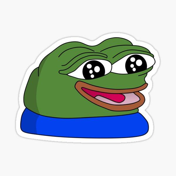peepoHappy Sticker