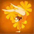 Gymnast Orange by Danielle Pioli