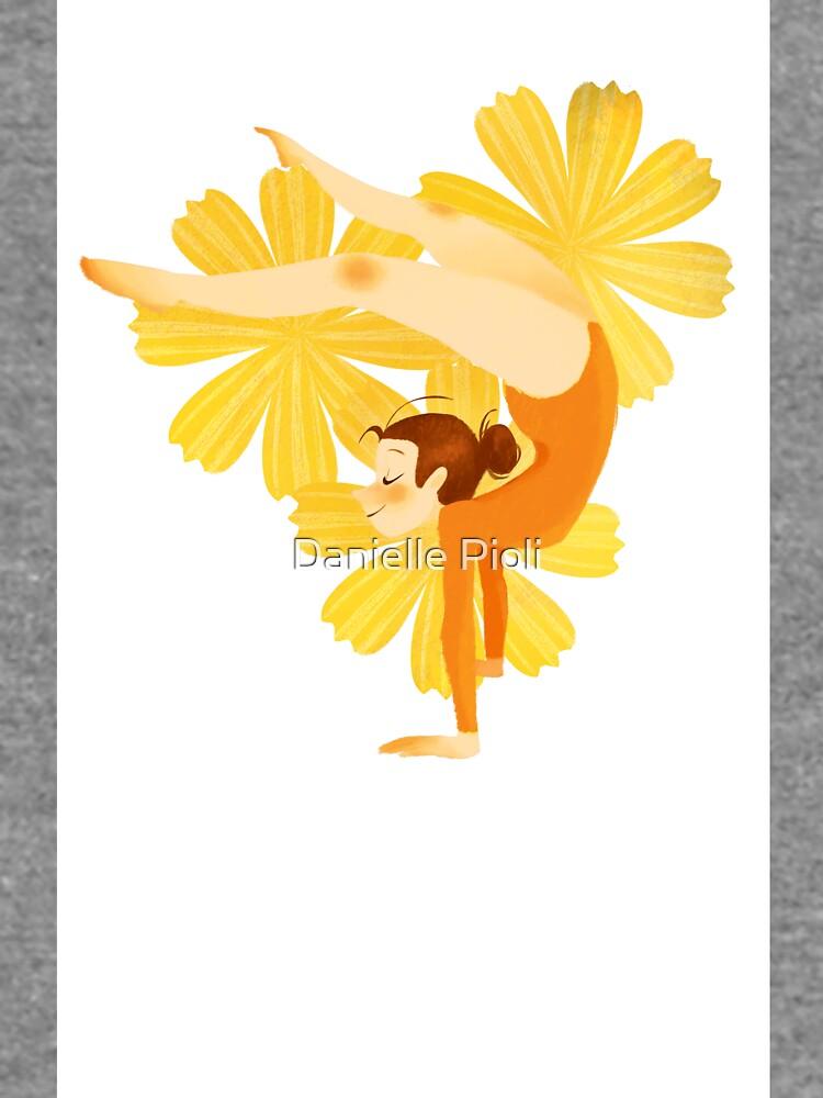 Gymnast Orange by danepioli
