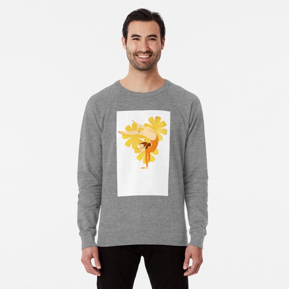 Gymnast Orange Lightweight Sweatshirt