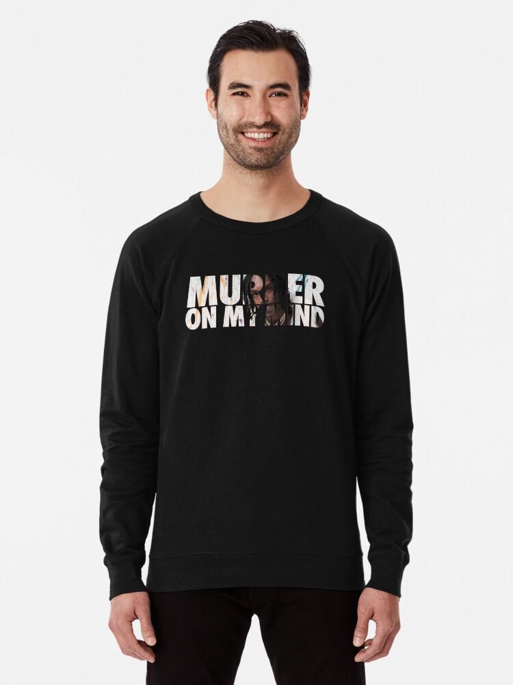 'Murder On My Mind - YNW Melly' Lightweight Sweatshirt by Dope Designs