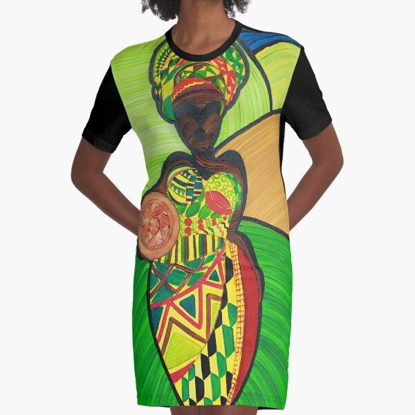 MOTHER Graphic T-Shirt Dress