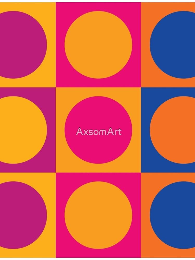Retro 60s Mod Pattern by AxsomArt