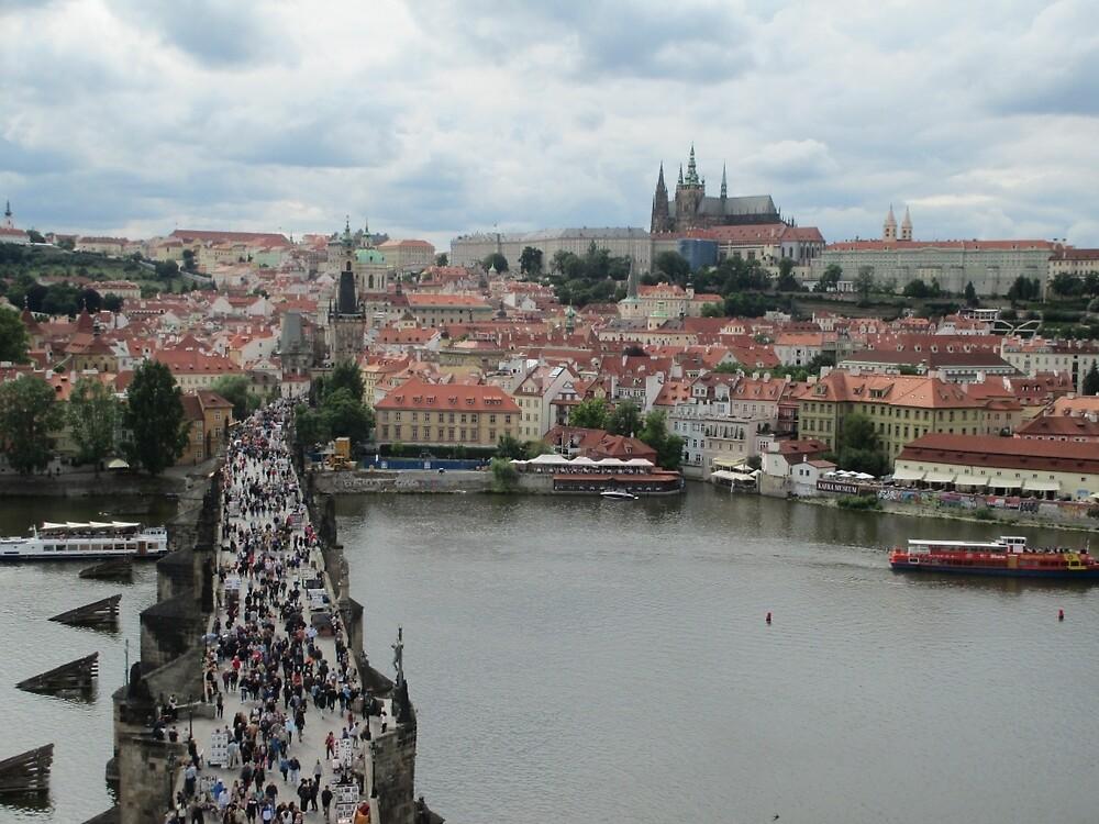 View of Mala Strana by maddipetro