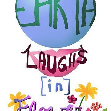 Tierra se ríe en flores - cita de poesía de maryhop