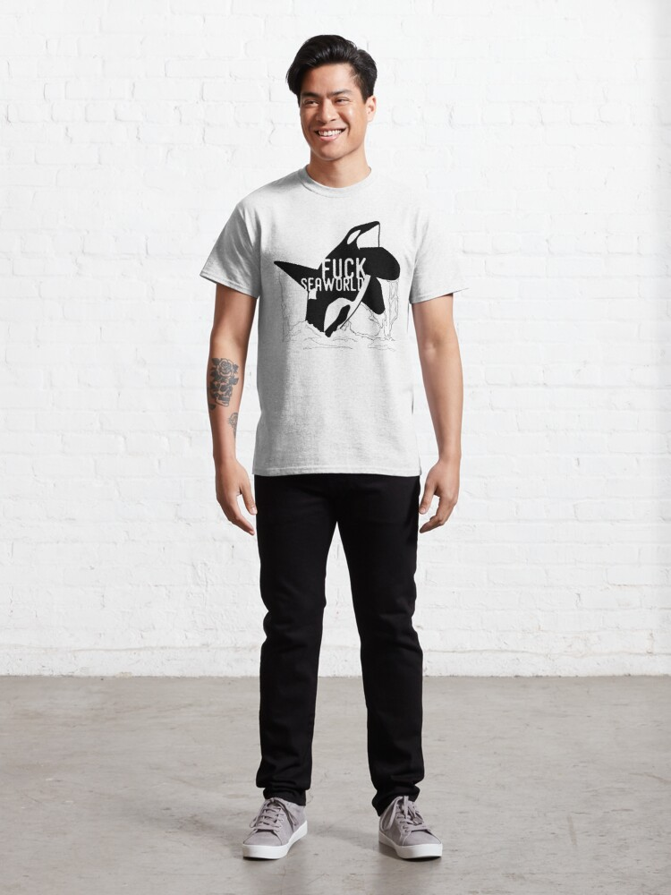 Alternate view of FUCKSEAWORLD Classic T-Shirt
