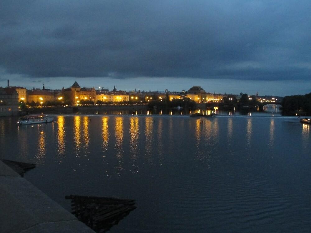 Prague at Night by maddipetro