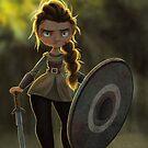 Viking Shieldmaiden by Danielle Pioli