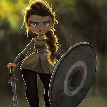 Viking Shieldmaiden by danepioli
