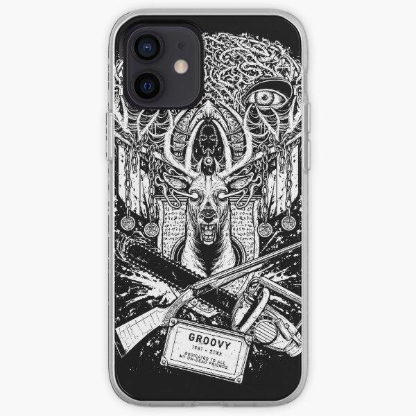 Evil Dead - Groovy T-shirt - Ash iPhone Soft Case