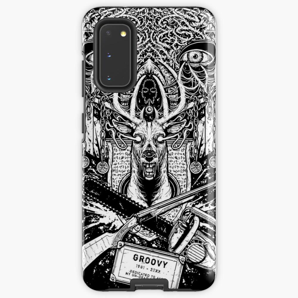 Evil Dead - Groovy T-shirt - Ash Case & Skin for Samsung Galaxy