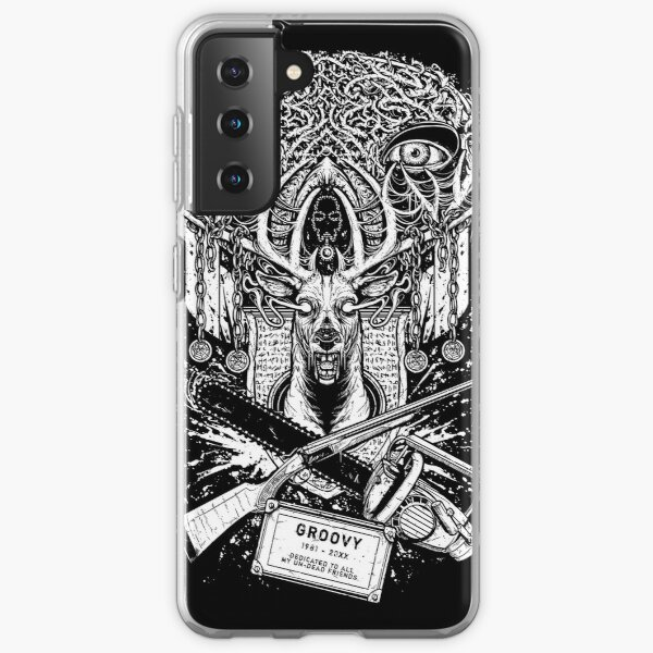 Evil Dead - Groovy T-shirt - Ash Samsung Galaxy Soft Case