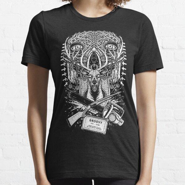 Evil Dead - Groovy T-shirt - Ash Essential T-Shirt