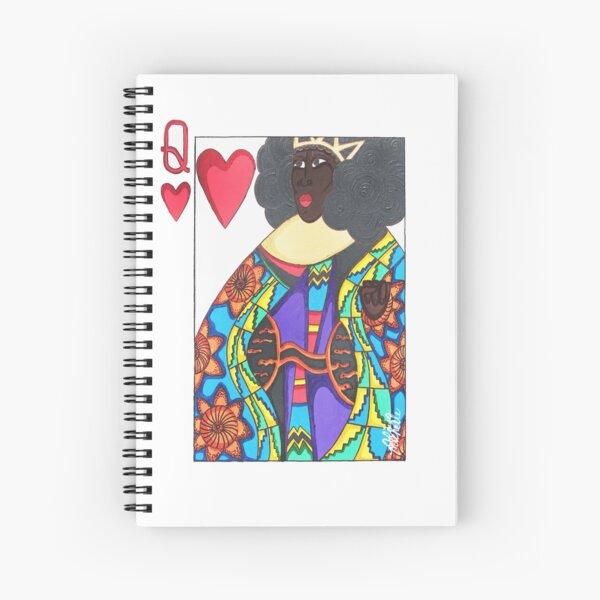 LOVE QUEEN Spiral Notebook