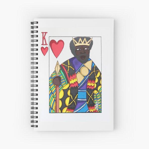 LOVE KING Spiral Notebook
