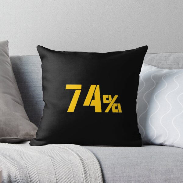 74% Mob Psycho 100 Throw Pillow