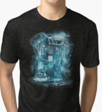 Time and space storm Tri-blend T-Shirt
