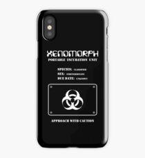 Xenomorph Portable Incubation Unit iPhone Case
