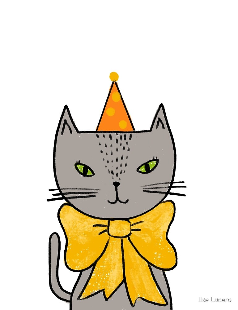 «Purrfect Birthday Cat» de Ilze Lucero